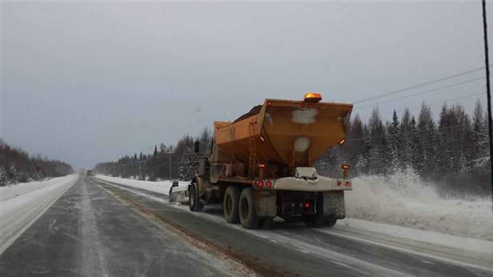 Entretien routier: le jus de betterave